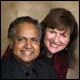 Prasad and Maria with Prasad Photography in Newport Beach, California, U.S.A.